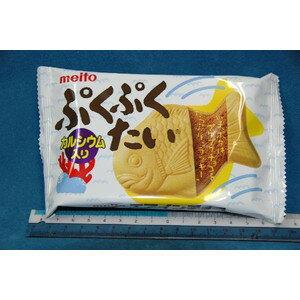 名糖産業 ぷくぷくたい 【チョコ味】 (1箱10個入り)