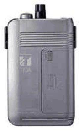 TOA 300MHz帯ワイヤレスシステム 携帯型受信機(2チャンネル型)WT-1101-C12C14