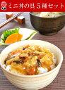 大龍 ミニ丼の具5種セット中華 中華丼 丼の具 エビチリ 海...