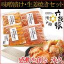瀬戸内六穀豚味噌漬け・生姜焼きセット  ギフト グルメギフト 贈答 贈り物 国産豚肉 国産 豚肉 お