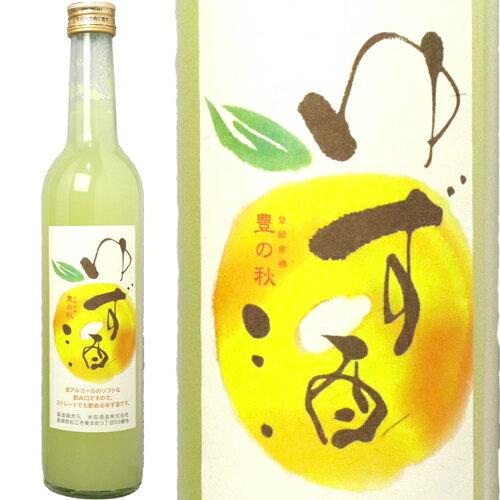 【米田酒造/島根県松江市】豊の秋 ゆず酒 500...の商品画像