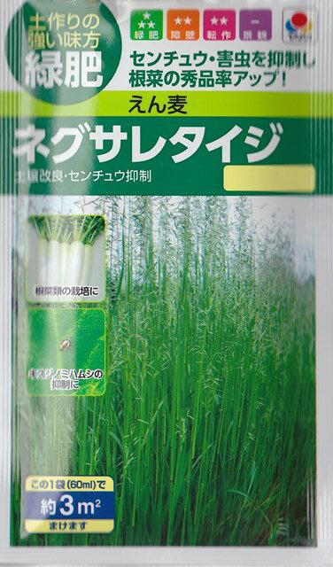 タキイ種苗 えん麦 ネグサレタイジ