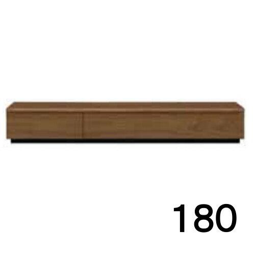 テレビボードMV 180 ウォールナット色 家具のよろこび 【店頭受取対応商品】