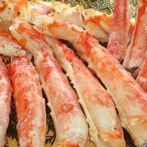 特大タラバ蟹【ボイル・カット済】 ステーキが最高!(約800g)【楽ギフ_包装】【楽ギフ_のし】【イカ】【送料無料】
