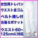 白衣 女性トレパン・総ゴム810-40【】