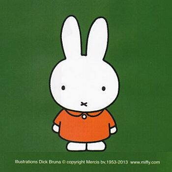 miffy(ミッフィー)モチーフ刺繍スクラブ男女兼用カラー/ネイビー、バーガンディ