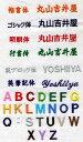 【ラッキーシール対応】刺しゅう入れ加工漢字、ひらがな、カタカナ、13〜25文字まで【】