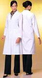 ワコールとFOLKのコラボレーションスリム&Aライン女性用ドクターコート白衣