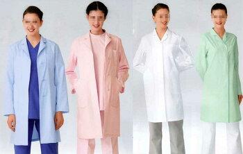 プリンセスライン&優しい衿の薬局衣/女性用シングル型