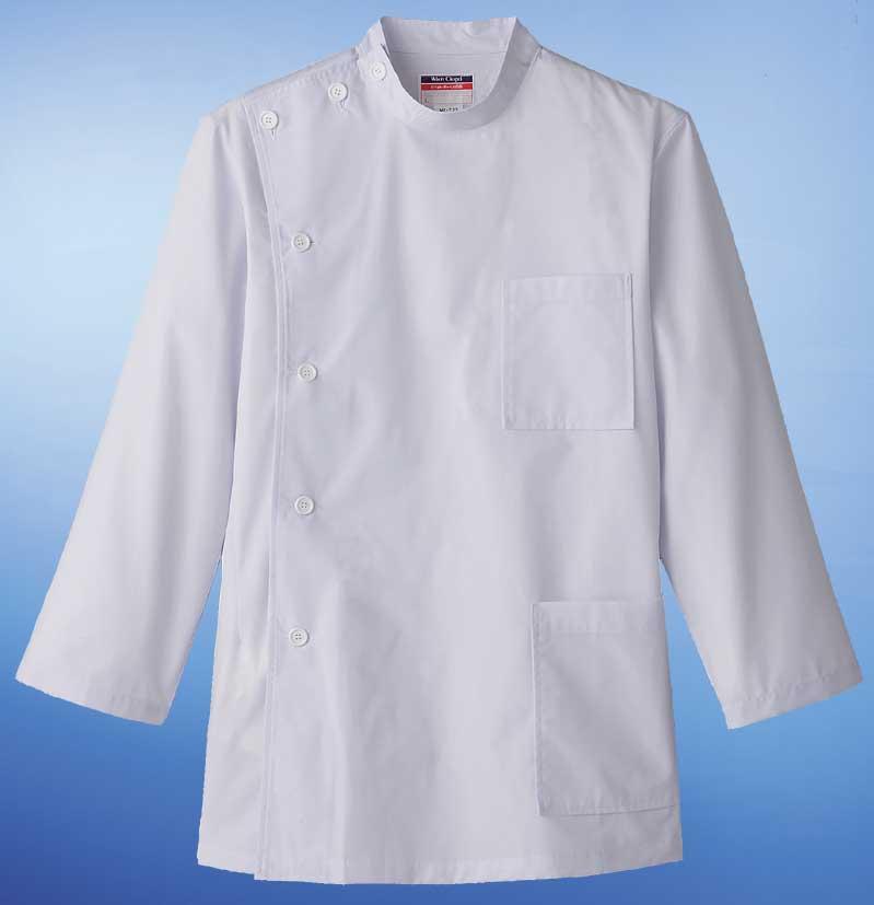 白衣 定番デザイン通常より厚手の素材男性用ドクターケーシー横掛白衣/長袖SP/MR-523【】