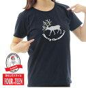 ショッピングオーナメント トナカイだってキラキラ☆オシャレにメリークリスマス!TシャツシッククリスマスTシャツメンズレディースキッズ中厚手