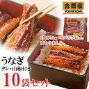 吉野家 冷凍うなぎ10袋20食セット