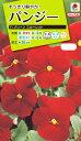 花種 NL200 パンジー F1 クリーン スカーレット 小袋 [FPA619]【花の種】【タキイのタネ】【送料110円〜】【ガーデニング】