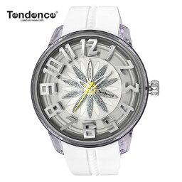 (あす楽)[テンデンス]Tendence 腕時計 King Dome ホワイト文字盤 TY023004 メンズ 【正規輸入品】3年保証【花弁模様がくるくる回転します】【送料無料】【楽ギフ_包装】05P02Sep17