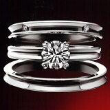 【2014年3月5日から値下がりしました!】 (世界一の輝き) ラザール ダイヤモンド ブライダル エンゲージリング・婚約指輪 (プラチナ950) LD208PR【画像中】【楽ギフ