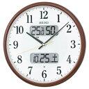 (あす楽) セイコー 電波時計 クロック KX383B 直径35cm Newモデル (セイコークロック)¥9,180