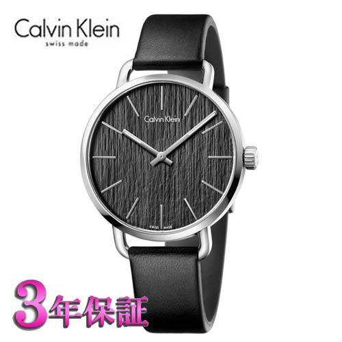 (あす楽)[正規国際保証/3年保証付き] カルバンクライン イーブン 腕時計 ブラック文字板  メンズ 42mmサイズ Calvin Klein even K7B211C1  【のし】【包装】【メッセ入力】【送料無料】【腕時計/刻印名入れ有料】