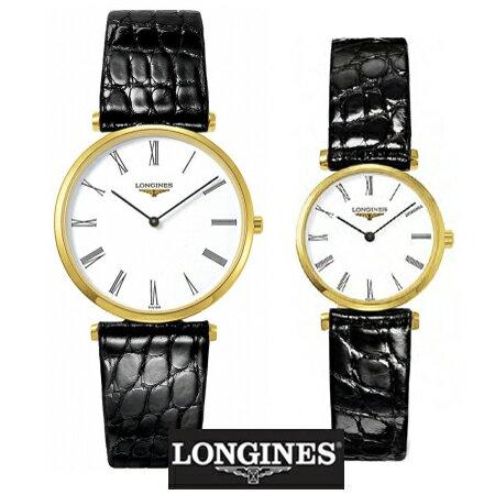 LONGINES ロンジン 腕時計 ペア 2本分 ラ グラン クラシック ドゥ ロンジン腕時計ペア L47552112 (メンズ)L42092112(レディー) 【送料無料】【名入れ】【のし宛書】10P04Mar17 ロンジンが誇る超薄型時計(国内正規品)