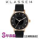 [クラス14]KLASSE14  腕時計 VO16RG005W  DARKROSE 36mm MARIO NOBILE VOLARE ブラック文字盤 ユニセックス【正規輸入品】【楽ギフ..