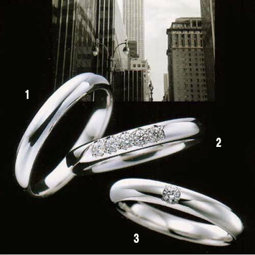 ラザール ダイヤモンド 結婚指輪・マリッジリング・(プラチナ) ダイヤ入り  写真3  URB801 【オーダー/納期4週間】【送料無料】【10P02Sep17】140,400 100年の伝統と高度なカット技術により独特の美しさを放つ
