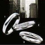 100年の伝統と高度なカット技術により独特の美しさを放つラザール ダイヤモンド 結婚指輪・マリッジリング・(プラチナ) ダイヤ入り  写真2 URB802【別作/納期4週間】\175,000