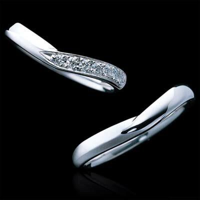 ラザール ダイヤモンド  結婚指輪・マリッジリング・(プラチナ) 写真下 ダイヤ無し URA904【オーダー/納期4週間】【送料無料】【10P02Sep17】 100年の伝統と高度なカット技術により独特の美しさを放つ