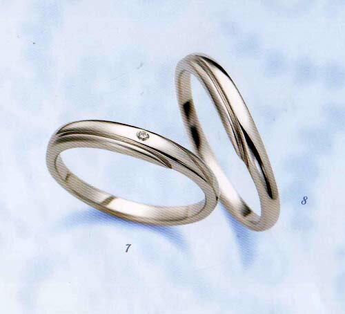 LANVIN (ランバン 指輪) La vie en bleu 結婚指輪 (右側)  マリッジ リング 5924055 【RCP】【送料無料】【_名入れ】【_のし宛書】【_包装】【_メッセ入力】05P02Sep17 LANVIN (ランバン リング) La vie en bleu 結婚指輪 内側サファイヤ入り 5924055