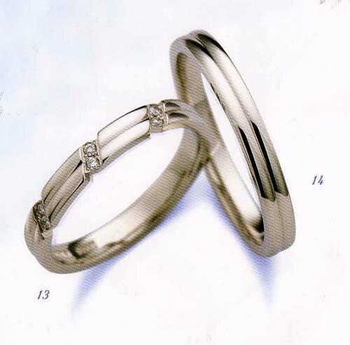 LANVIN (ランバン リング) La vie en bleu 結婚指輪 マリッジ リング ダイヤモンド入り(左側)5924060  【smtb-kd】【RCP】【送料無料】【_名入れ】【_のし宛書】【_包装】【_メッセ入力】05P02Sep17 LANVIN (ランバン 指輪) La vie en bleu ダイヤモンド結婚指輪 内側サファイヤ入り 5924060