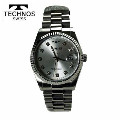 () テクノス(TECHNOS) 腕時計 5気圧防水 T9402SS【RCP】【最安値挑戦】【送料無料】【_包装】【クリスマス】02P04Mar17 絶大な支持を受けているブランド「テクノス」。プレゼントやギフトにもおすすめ。