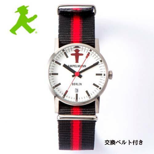 アンペルマン  腕時計 クォーツ ラウンド ホワイト ARI-4976-03 アンペルマンは、ドイツ統一のシンボル、復活のシンボルなど、様々なシンボルとして活躍しています。