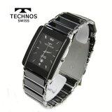 (あす楽) テクノス 腕時計 (TECHNOS) 3気圧防水 サファイアガラス T9137TB メンズ【楽ギフ包装】【】【RCP】【半額】【スーパーセール】02P08Mar14