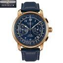 ツェッペリン  LZ126 Los Angeles  腕時計 LZ126 Los Angeles 7616-3 クオーツ クロノグラフ メンズ  76163  正規輸入品