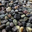 【送料無料】大磯砂利 (フィリピン産) 5分(約15mm)約40kg入り砂利】【庭石】【ミックス砂利】【ガーデン】【エクステリア】