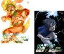 2パック【中古】DVD▼NARUTO ナルト THE BEST SCENE(2枚セット)感動編、激闘編▽レンタル落ち 全2巻