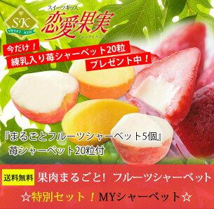 フルーツ シャーベット 詰め合わせ プレゼント salefruits