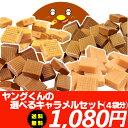 宮田製菓キャラメル アウトレット選べるキャラメルセット(4袋)