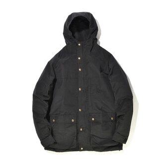 #922045 俄勒岡的戶外用品店 (俄勒岡旅行用品) 俄勒岡派克俄勒岡人大衣 2 男子戶外山皮大衣夾克尼龍風衣連帽塞拉里昂設計黑色黑色 S M L XL 10P01Oct16