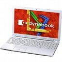 【ポイント5倍】東芝 ノートパソコン dynabook EX/353KW PAEX353KSVW [液晶サイズ:15.6インチ CPU:Celeron Dual-Core 1037U(Ivy Bridge)/1.8GHz/2コア HDD容量:1000GB メモリ容量:4GB OS:Windows 8.1 64bit]