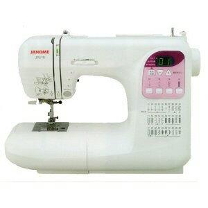 Janome縫紉機JP510[主要的功能:自動線狀况/全自動鈕孔/編碼繞線機]