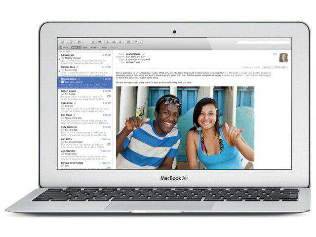 APPLE Mac ノート MacBook Air 1700/11.6 MD224J/A