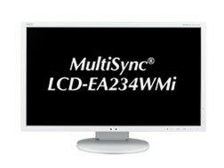 NEC 液晶顯示器及液晶顯示器 MultiSync 液晶 EA234WMi 23 英寸 [尺寸︰ 23 英寸顯示器提示︰ 寬屏解析度 (標準)︰ 全高清 (1920 x 1080) 輸入終端︰ d-subx1/dvix1/hdmix1/displaportx1]