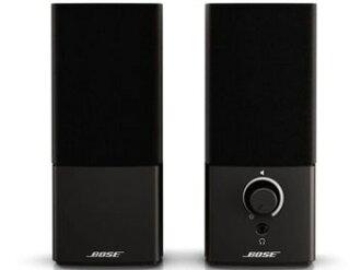玻色 PC 揚聲器同伴 2 系列 III 多媒體揚聲器系統 [黑色] [類型︰ 2 聲道輸入的端子︰ 2 x 迷你插頭投入和其他類型︰ AUX 引腳作為功率︰ 耳機輸出]