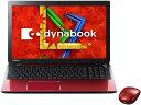 【ポイント5倍】東芝 ノートパソコン dynabook T554 T554/56KR PT55456KBXR [モデナレッド] [液晶サイズ:15.6インチ CPU:Core i5 4200U(Haswell)/1.6GHz/2コア HDD容量:1000GB メモリ容量:8GB OS:Windows 8.1 64bit]