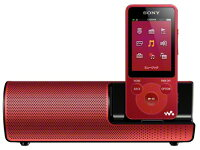 SONYMP3プレーヤーNW-E083K(R)[4GBレッド]