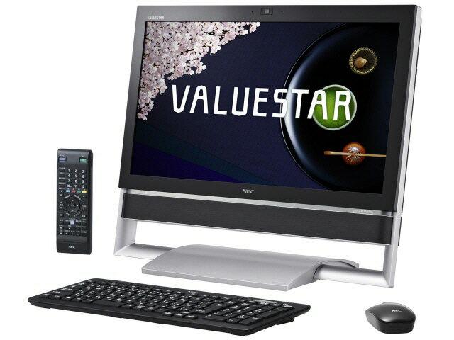 NEC デスクトップパソコン VALUESTAR N VN770/RSB PC-VN770RSB [ファインブラック]