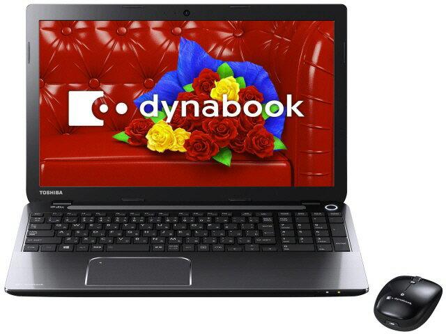 東芝 ノートパソコン dynabook T554 T554/45LB PT55445LSXB [プレシャスブラック]