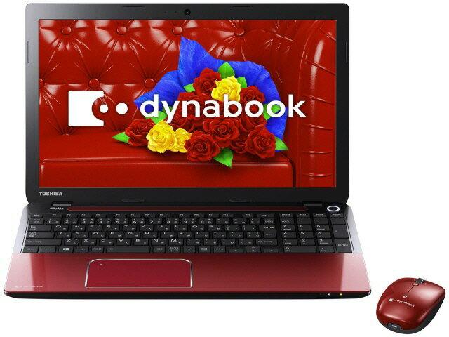 東芝 ノートパソコン dynabook T554 T554/76LR PT55476LBXR [モデナレッド]