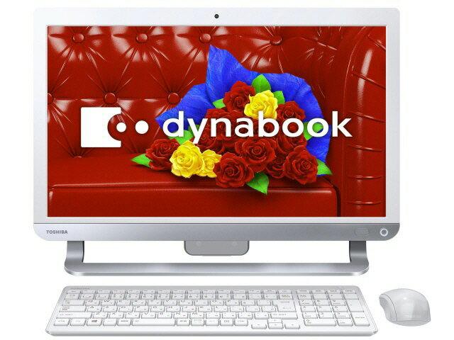 東芝 デスクトップパソコン dynabook D513 D513/32LW PD51332LSXW [リュクスホワイト]
