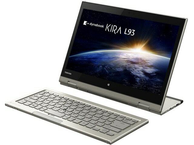 【ポイント5倍】東芝 タブレットPC(端末)・PDA dynabook KIRA L93 L93/39M PL93-39MKXG [タイプ:...