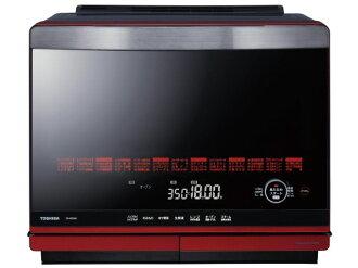 東芝電子微波爐石頭爐半圓形屋頂ER-MD500(R)[豪華紅][類型:電子微波爐庫裏面的容量:31L最大範圍輸出:1000W]